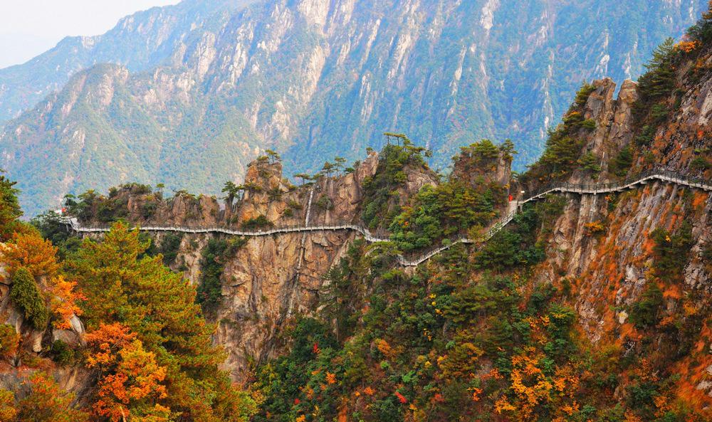 大明山,浙西临安唯一的国家级风景名胜区,国家aaaa级风景旅游区, 距